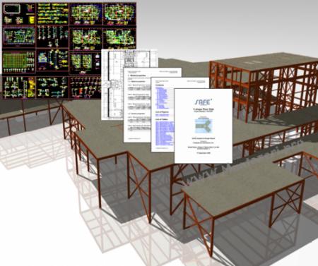 محاسبات ساختمان با ETABS و SAFE
