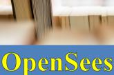 کتاب آموزش OpenSees – بخش ۳